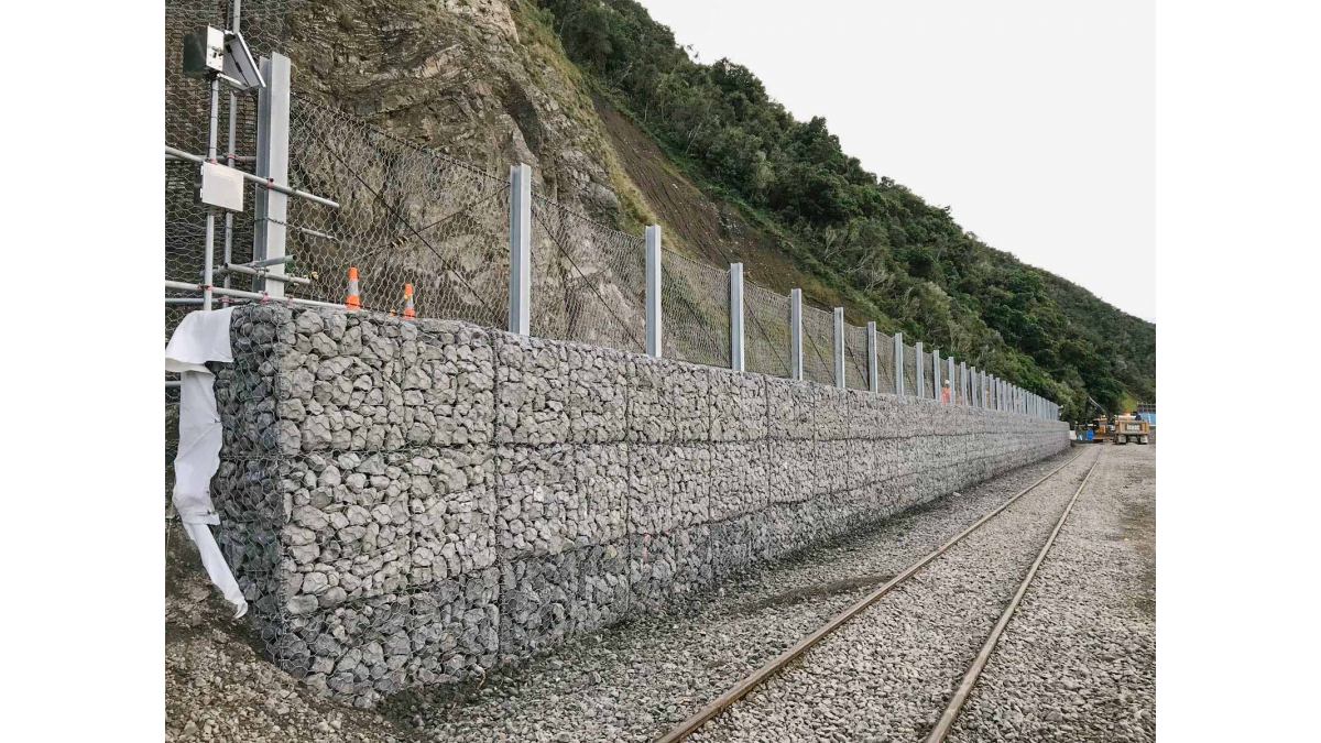 Kaikoura landslip rockwall monitoring